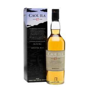 Caol Ila 17 Year Old Single Malt Scotch Whisky Unpeated Cask Strength 2015 Edition Islay
