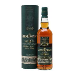 GlenDronach 15 Year Old Revival Single Malt Whisky PX Sherry Olosoro Sherry Highland