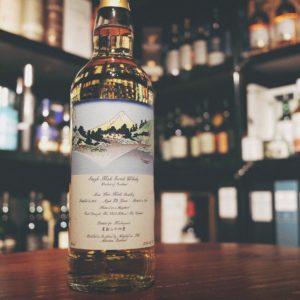 Maltoyama Glen Keith 1995 23 Year Old Single Malt Whisky (葛飾北斎作『富嶽三十六景』甲州三坂水面)