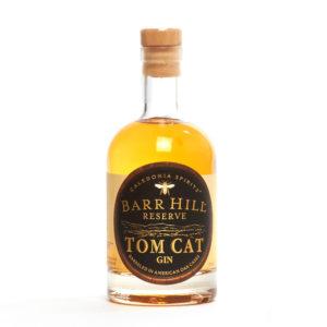 Barr Hill Reserve Tom Cat Gin, botanicals, honey