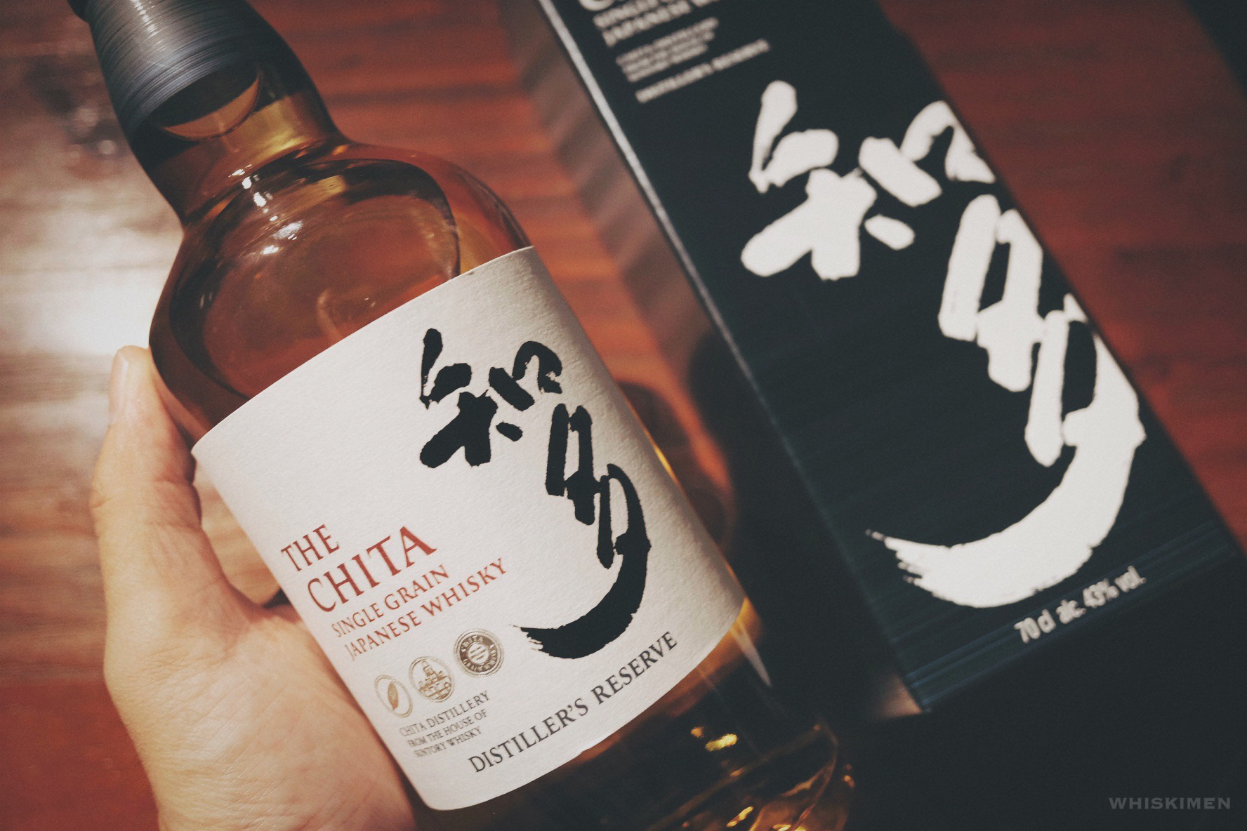知多 The Chita Single Grain Japanese Whisky