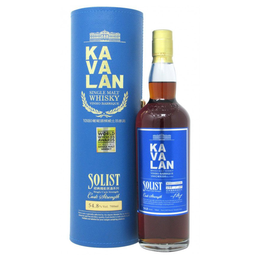 Kavalan Solist Vinho Barrique Single Malt Whisky (Single Cask Strength) Vinho barrique cask strength cs, 台灣 taiwan world whisky 葡萄酒桶 wine cask 經典獨奏