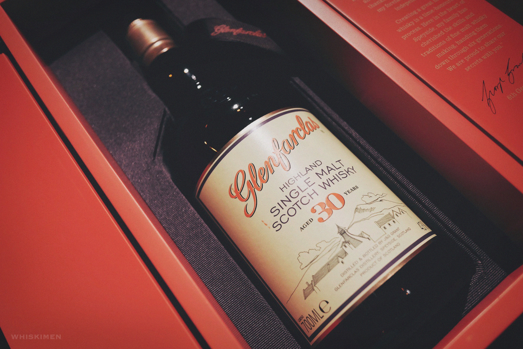 Glenfarclas 30 Year Old Single Malt Scotch Whisky (Warehouse Edition 2016)