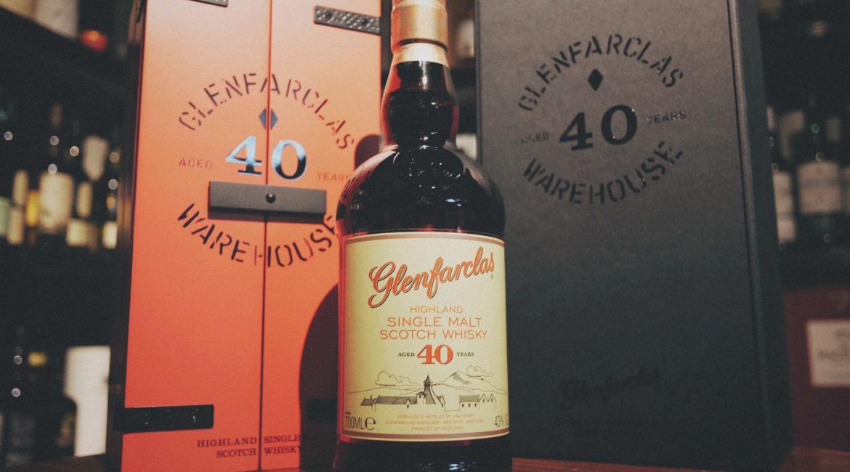 Glenfarclas 40 Year Old Single Malt Scotch Whisky (Warehouse Edition 2017) cask strength scotch sherry speyside 40年 威士忌