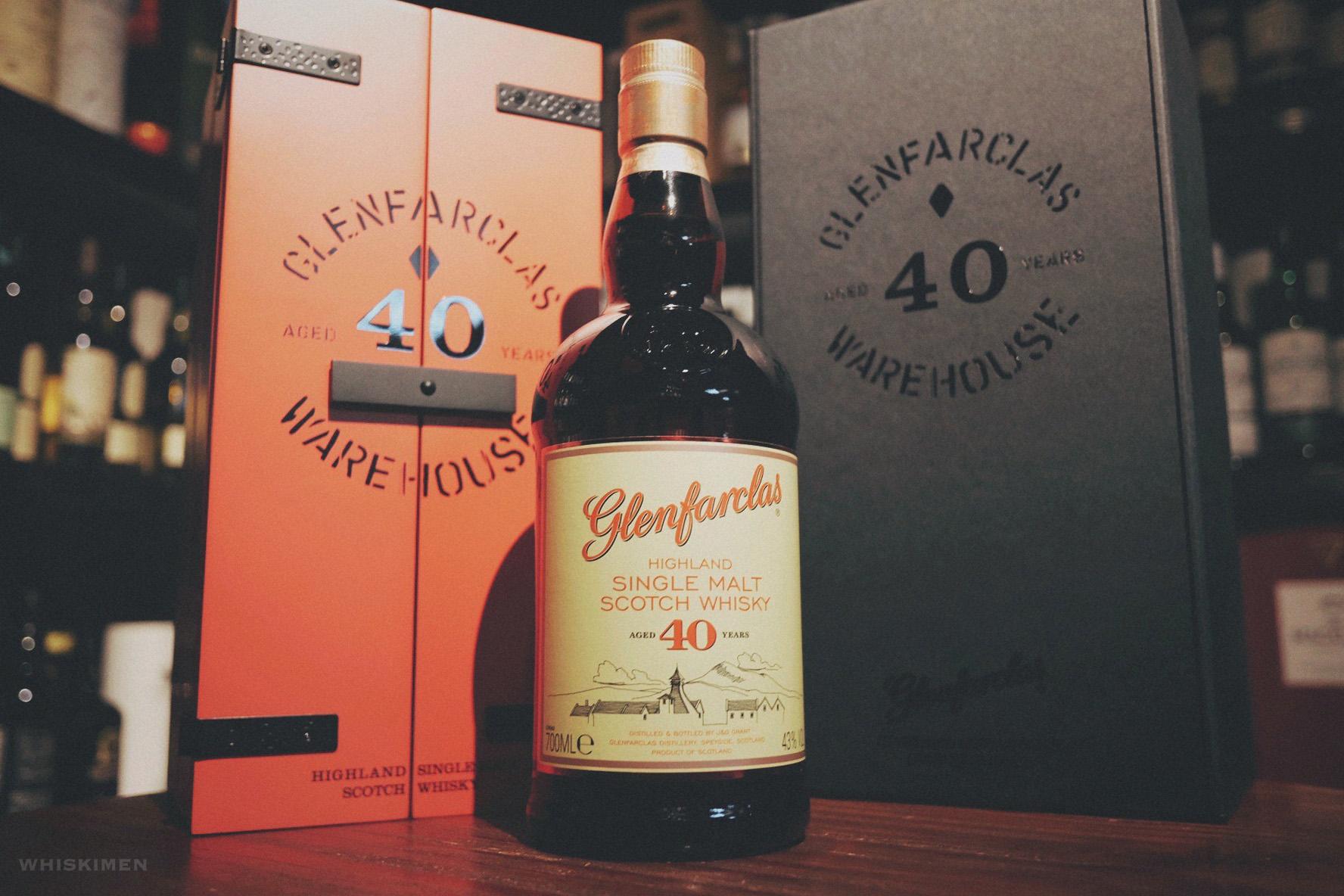 Glenfarclas 40 Year Old Single Malt Scotch Whisky (Warehouse Edition 2017)