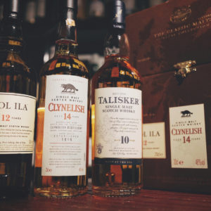 The Classic Malts Coastal Collection - Caol Ila, Clynelish, Talisker