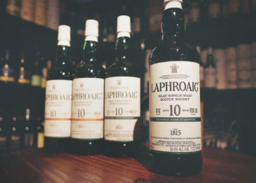 Laphroaig 10 Year Old Cask Strength Single Malt Whisky (Batch #012)