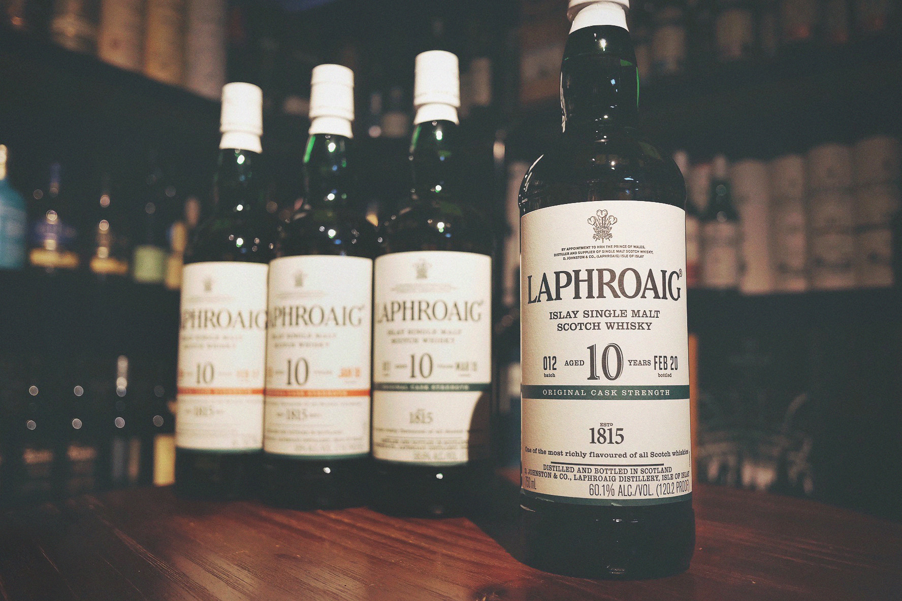 Laphroaig 10 Year Old Cask Strength Single Malt Whisky (Batch #012)