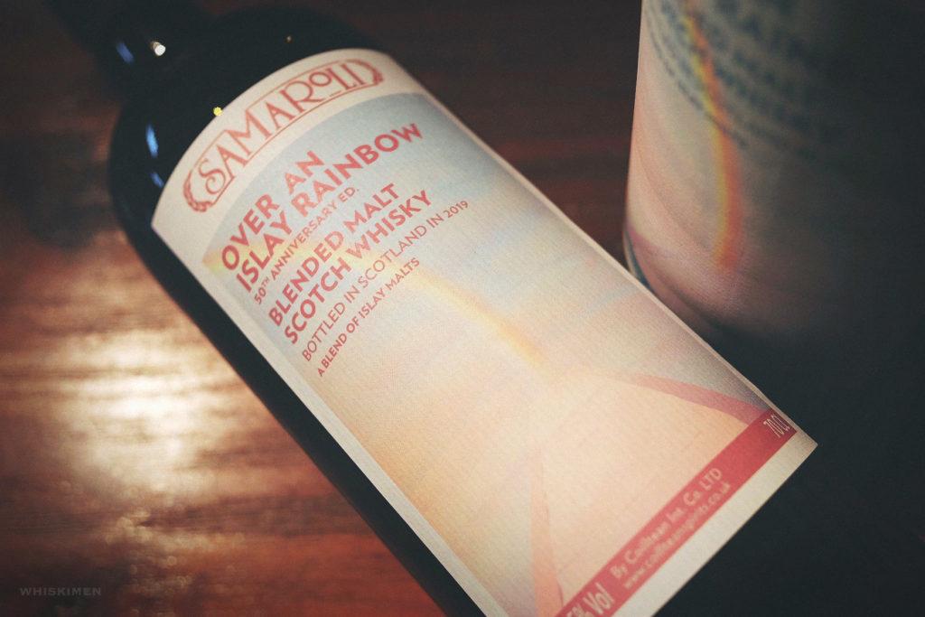 Samaroli Over An Islay Rainbow Blended Malt Scotch Whisky (50th Anniversary)