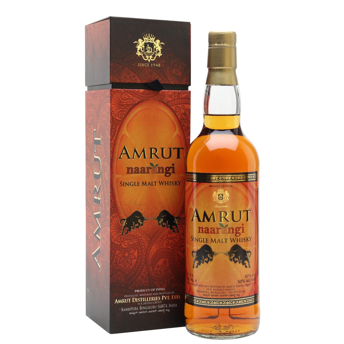Amrut Naarangi Single Malt Whisky