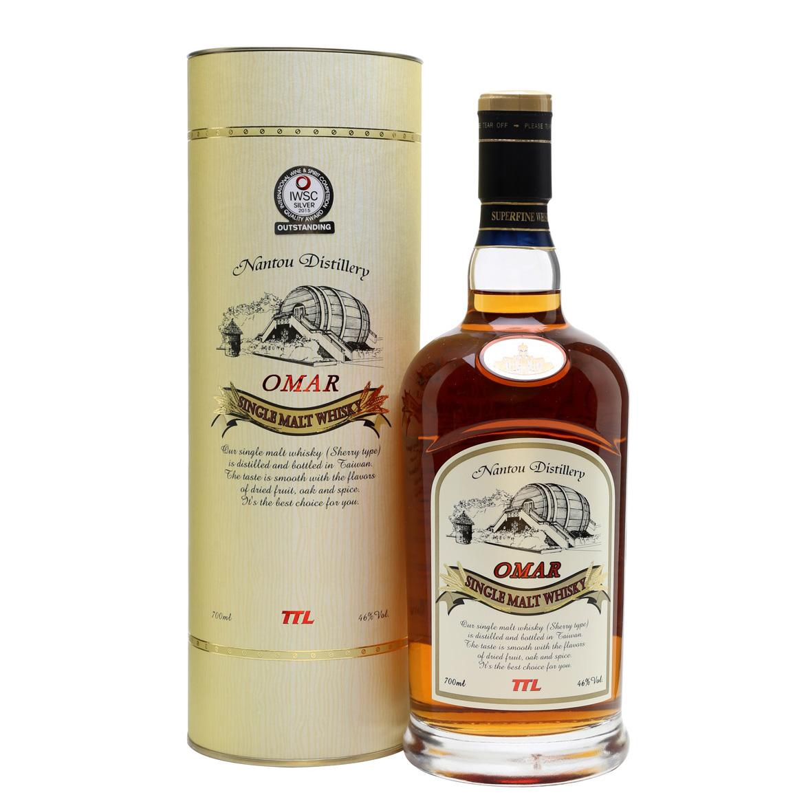 Nantou Omar Single Malt Whisky (Sherry Cask) Taiwan