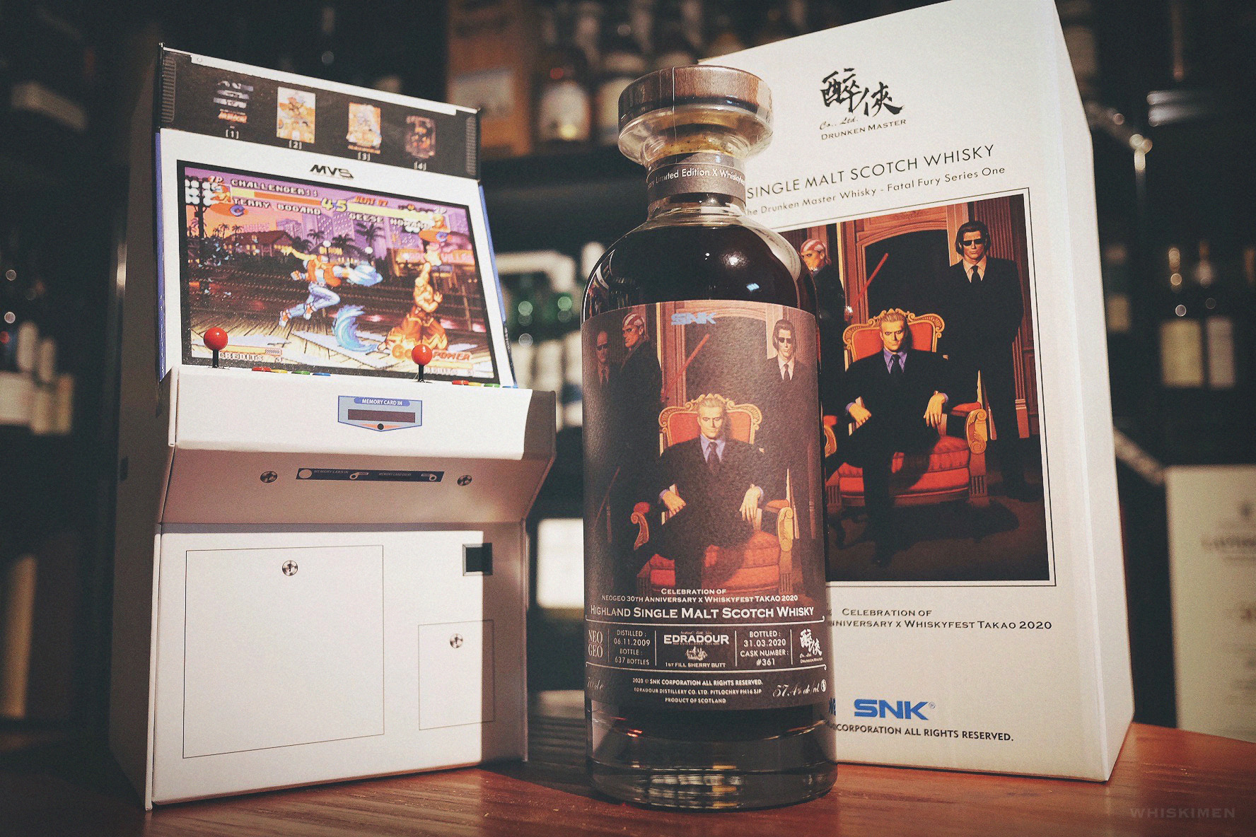 The Drunken Master x NeoGeo Edradour 2009 10 Year Old Single Malt Whisky (SNK 餓狼傳說 Fatal Fury Series One – Geese Howard)