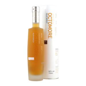 Bruichladdich Octomore 06.3 Scottish Barley Single Malt Whisky Islay Peat PPM 258 5 year old