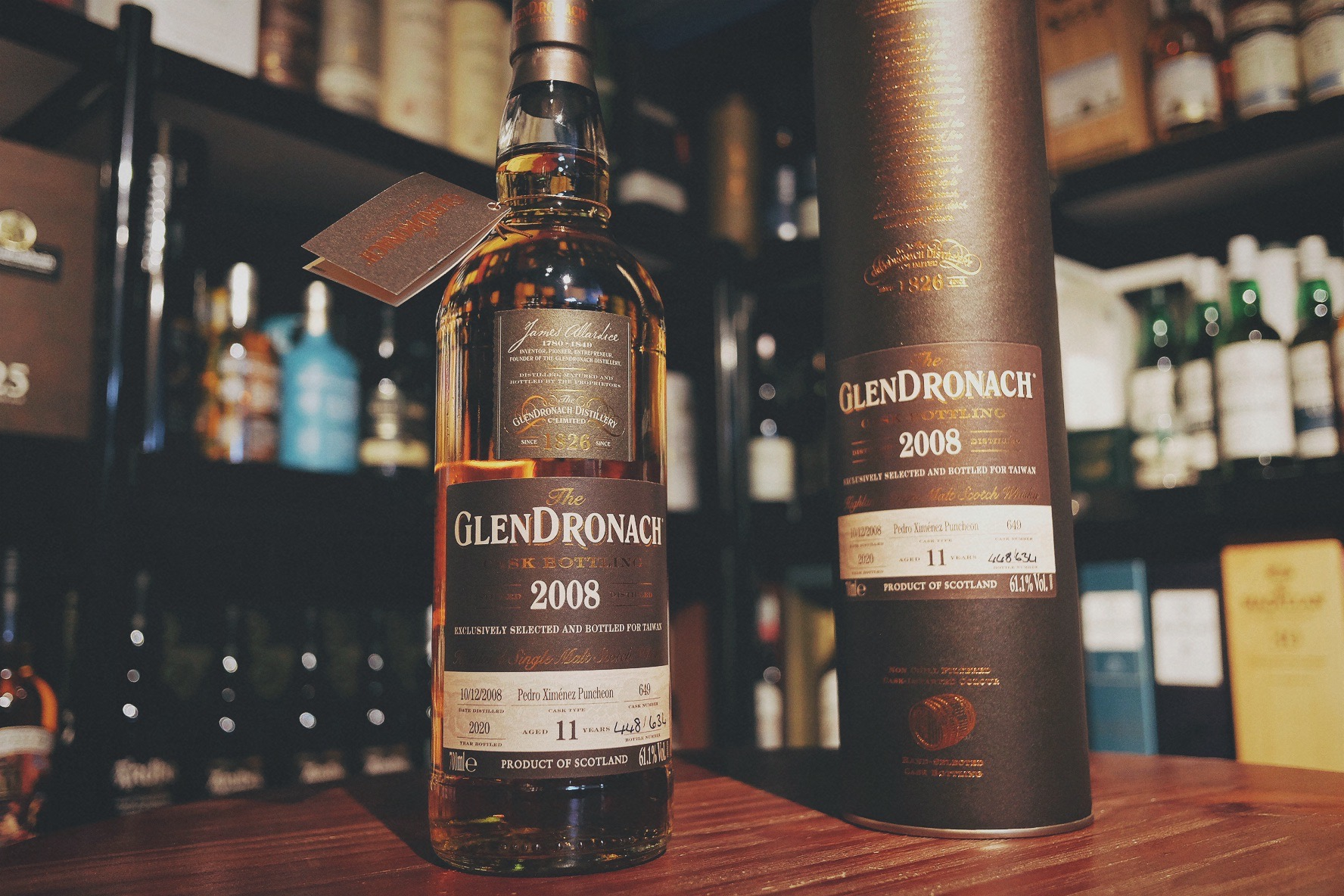 GlenDronach 2008 11 Year Old Single Malt Single Cask Whisky