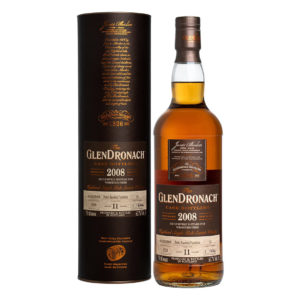 GlenDronach 2008 11 Year Old Single Malt Single Cask Whisky highland Pedro Ximénez Sherry Puncheon PX 2020
