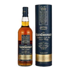 GlenDronach 8 Year Old Single Malt Whisky Cask Strength Batch 8 Higland Sherry Spanish oak Pedro Ximénez Oloroso