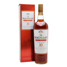 The Macallan 10 Year Old Cask Strength Single Malt Whisky Speyside Sherry 2007 limited