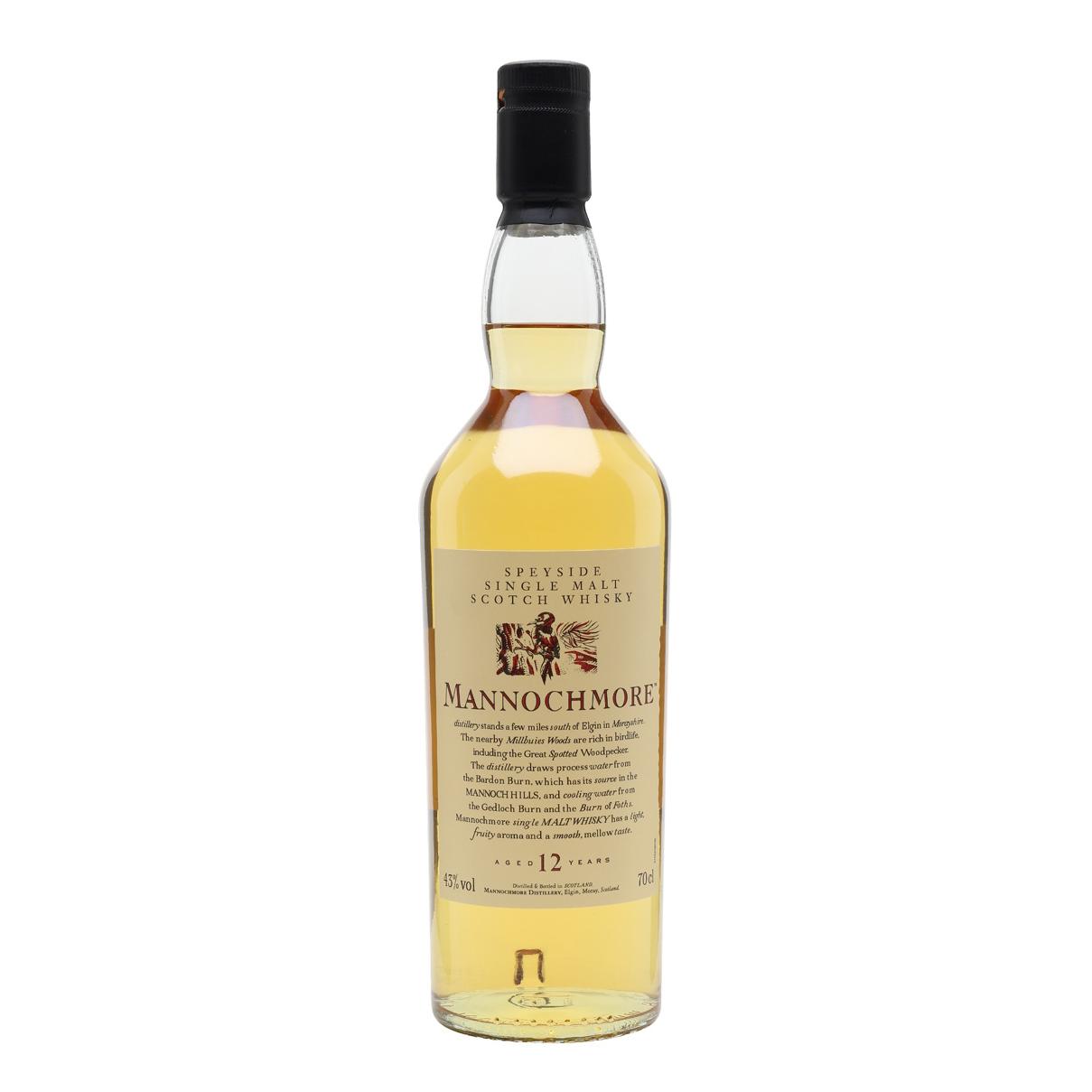 Mannochmore Flora & Fauna 12 Year Old Speyside Single Malt Scotch Whisky Diageo