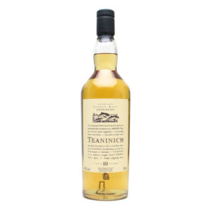 Teaninich Flora & Fauna 10 Year Old Highland Single Malt Scotch Whisky Diageo