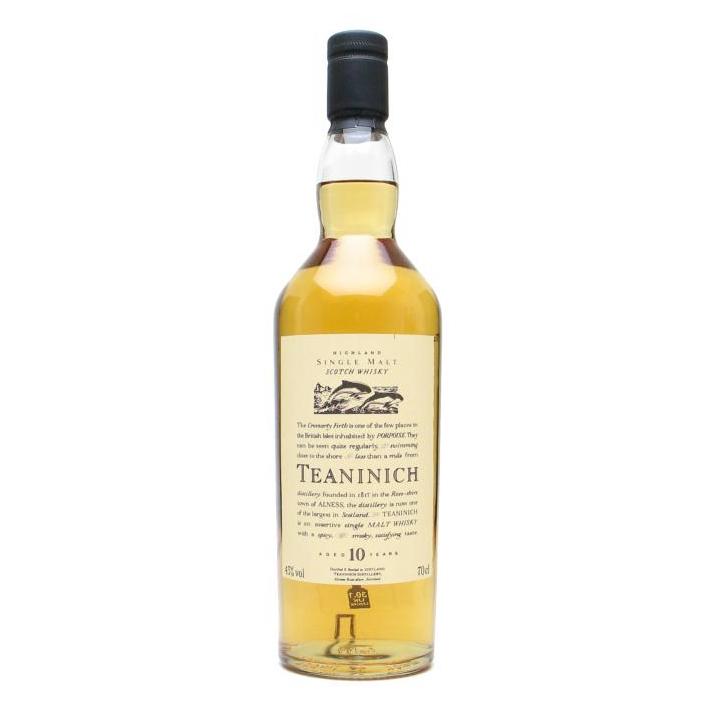 Teaninich Flora & Fauna 10 Year Old Highland Single Malt Scotch Whisky Diageo