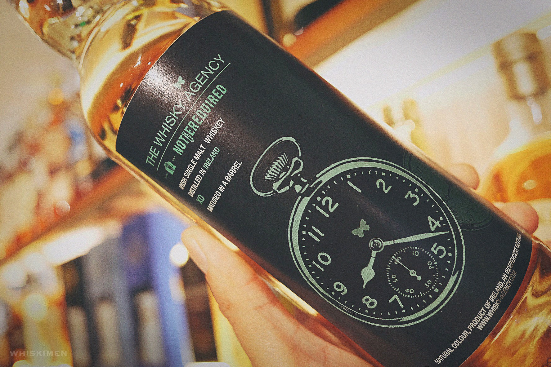The Whisky Aganecy x Notierequired Extra Old Irish Single Malt Whiskey