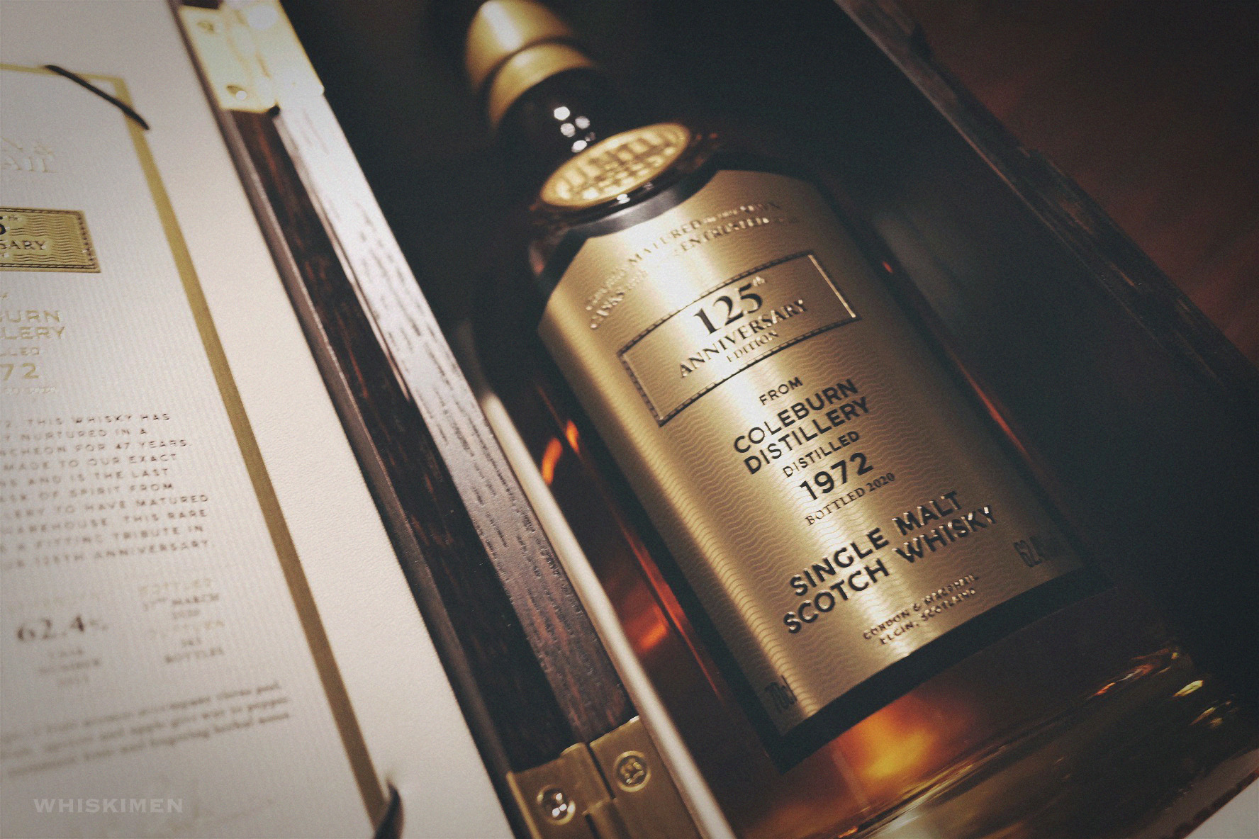 Gordon & MacPhail Last Cask Series Coleburn 1972 47 Year Old Single Malt Scotch Whisky 125th Anniversary