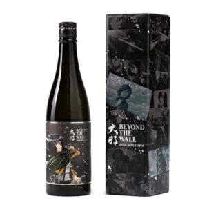 菊の里酒造 x 進擊的巨人 大那 Beyond The Wall 純米吟釀 EP02 Mikasa