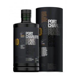 Bruichladdich Port Charlotte 10 Year Old Heavily Peated Single Malt Scotch Whisky