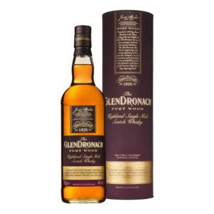 GlenDronach Port Wood 10 Year Old Single Malt Whisky