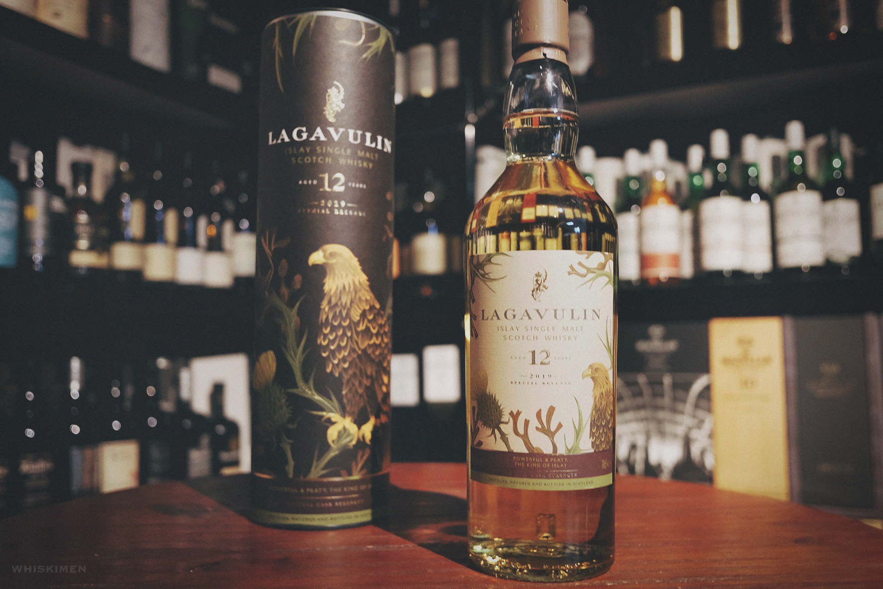Lagavulin 12 Year Old Natural Cask Strength Single Malt Scotch Whisky (2019 Special Release)