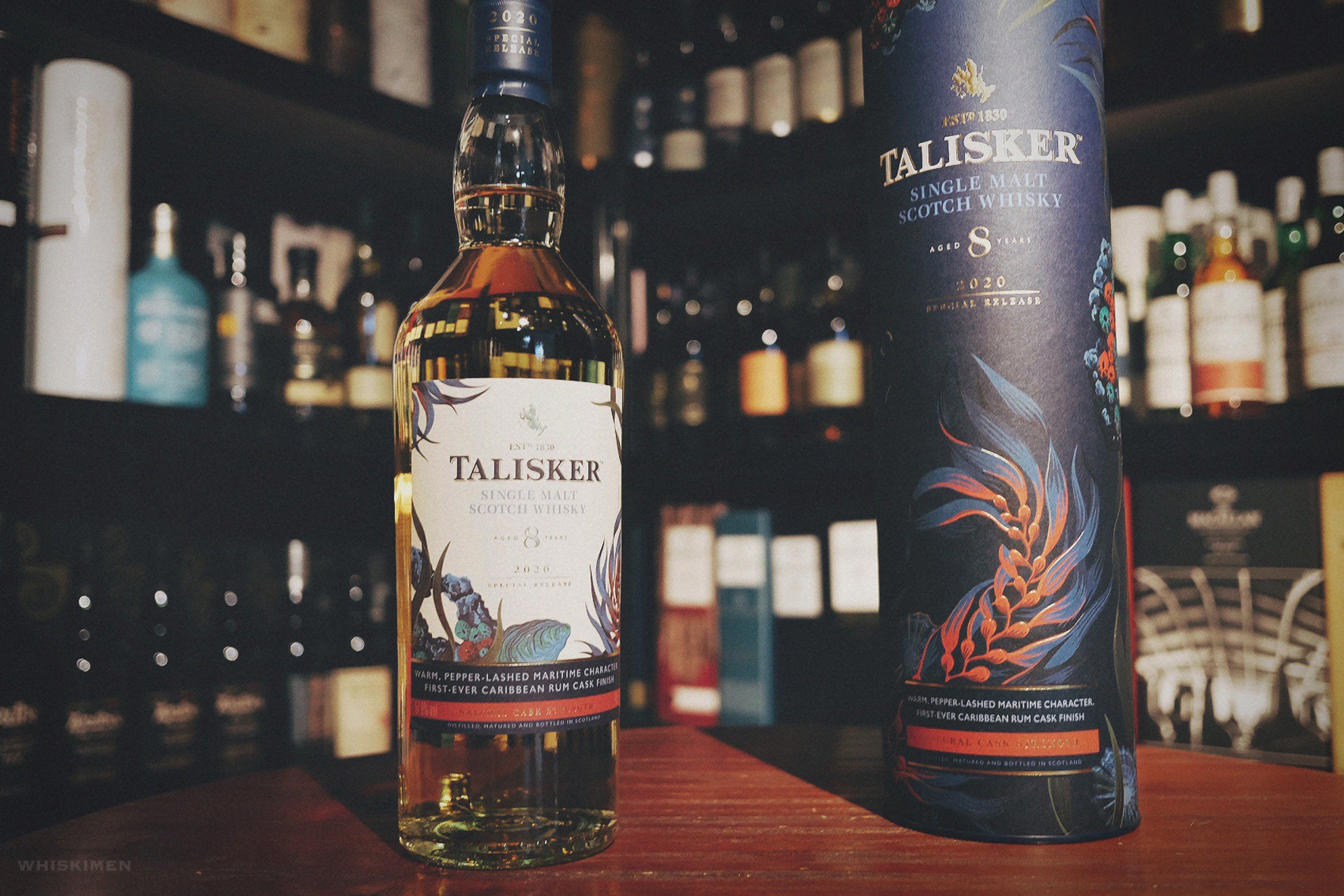 Talisker 8 Year Old Natural Cask Strength Single Malt Scotch Whisky (2020 Special Release)