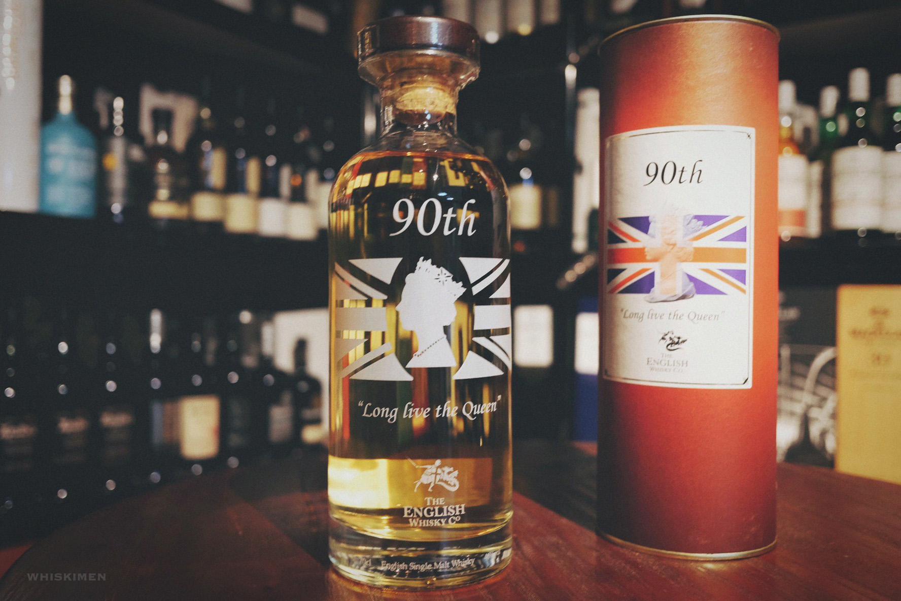 The English Whisky Co. English Single Malt Whisky (Queen Elizabeth II 90th Birthday)
