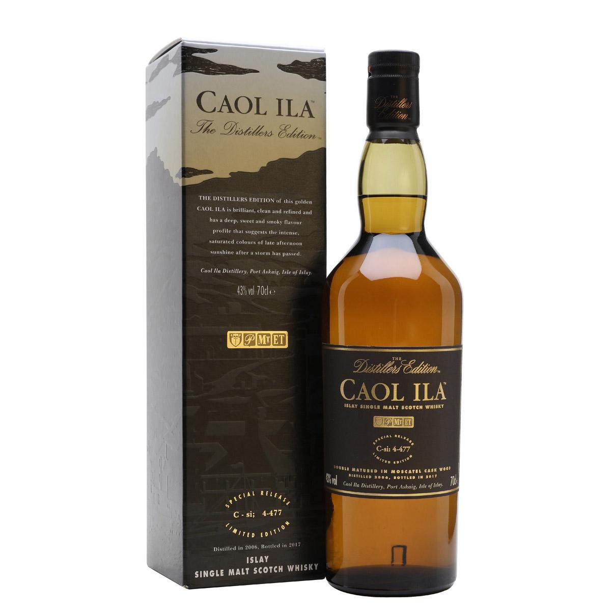 Caol Ila Distillers Edition 2006-2017 Single Malt Scotch Whisky