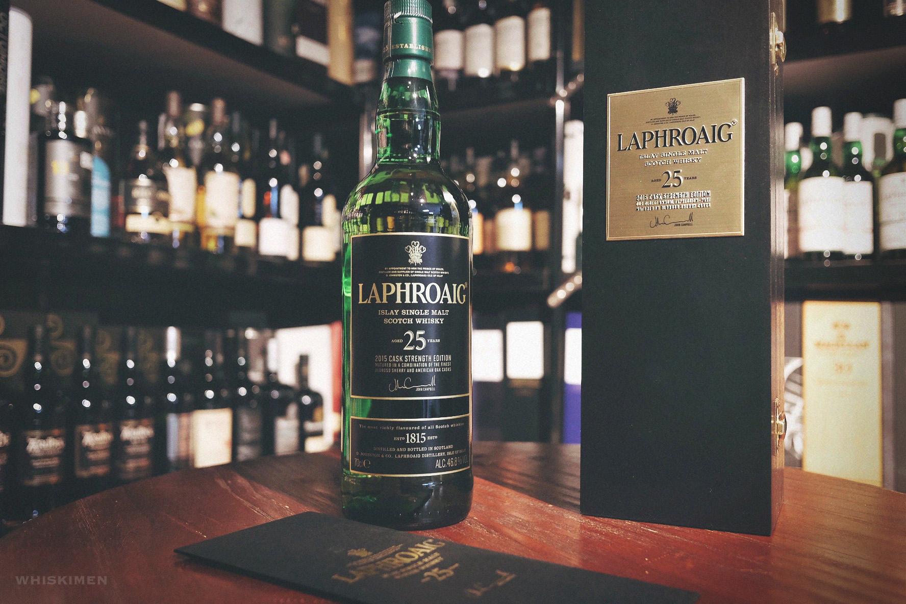 Laphroaig 25 Year Old Single Malt Scotch Whisky (2015 Edition)