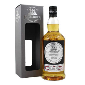 Hazelburn 9 Year Old Single Malt Scotch Whisky, springbank, barolo