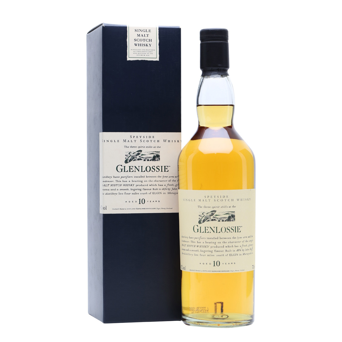 Glenlossie Flora & Fauna 10 Year Old Speyside Single Malt Scotch Whisky