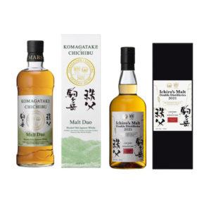 駒ヶ岳 Mars Komagatake × 秩父 Chichibu 2021 Collection Blended Malt Japanese Whisky