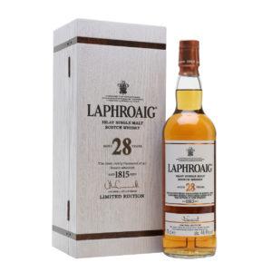 Laphroaig 28 Year Old Single Malt Scotch Whisky, 2018